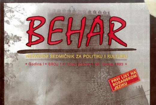 Naslovnice prvih novina: BiH nakon 1992.