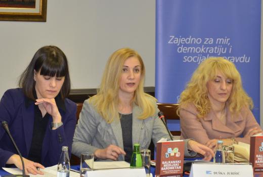 Prezentiran drugi Balkanski medijski barometar