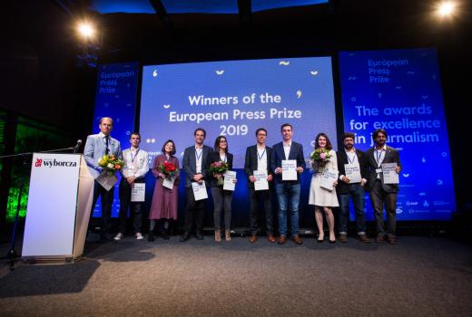 Dodijeljene nagrade European Press Prize 2019.