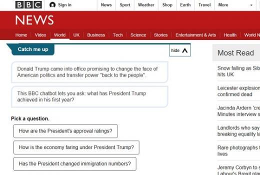 BBC eksperimentiše sa chat opcijama u komplikovanim temama