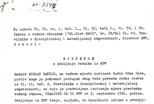 Čistka u RTV Crne Gore (2)