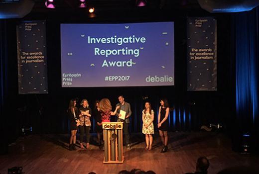 CINS dobio nagradu za istraživačko novinarstvo European Press Prize (ne objavljivati jos!)