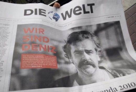 Die Welt tuži Tursku zbog hapšenja novinara Deniza Yücela