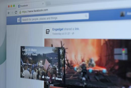 Facebook uvodi pop-up video u News Feed