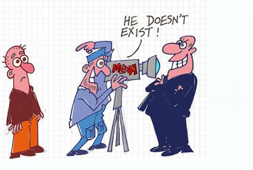 Karikatura: Bez pristupa