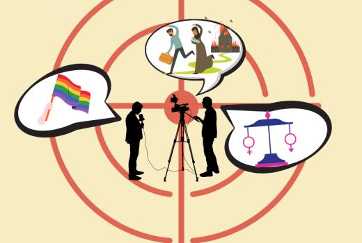 Napadi i uvrede za one koji izvještavaju o pravima manjina