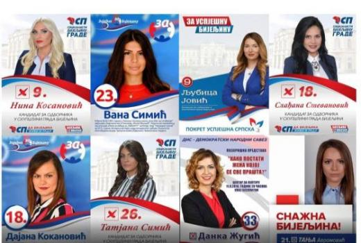 Bijeljinski izbor za najljepšu kandidatkinju na izborima - medijski doprinos patrijarhatu