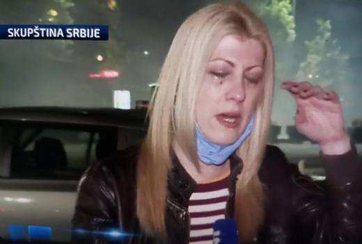 Tokom demonstracija u Beogradu napadnuti predstavnici medija