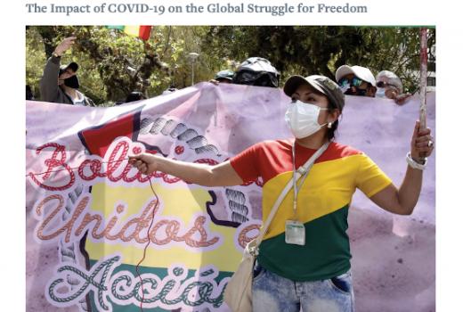 Freedom House: Pandemija koronavirusa ubrzala globalni pad slobode izražavanja