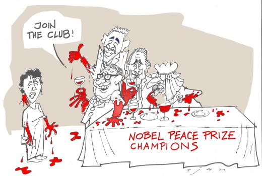 Midhat Ajanovic - Ajan dobitnik međunarodne nagrade za karikaturu