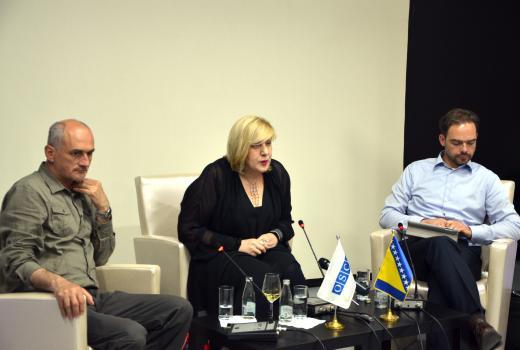 Mijatović: Političke strukture moraju prekinuti trend koji ugrožava profesiju novinara