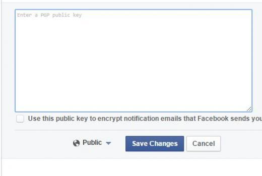 Facebook uvodi opciju dodavanja PGP ključeva