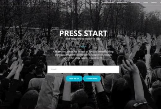 Crowfunding platforma Press Start počela sa radom