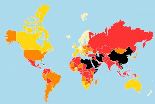 Pad medijskih sloboda: BiH na 63. mjestu Indeksa medijskih sloboda