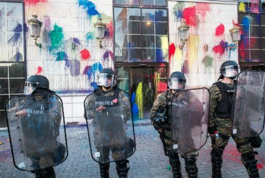 Macedonia's 'Sorosoids' and Govt Propaganda