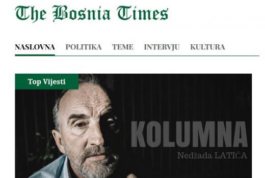 BH Novinari: Osuda napada na Nedžada Latića