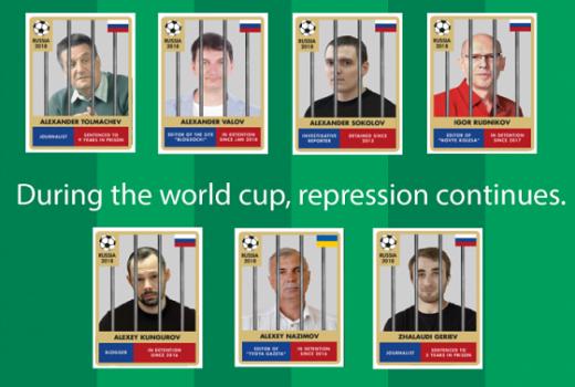 Reporteri bez granica: Rusija ne popušta pritiske na medijske slobode ni pred Svjetsko prvenstvo u fudbalu