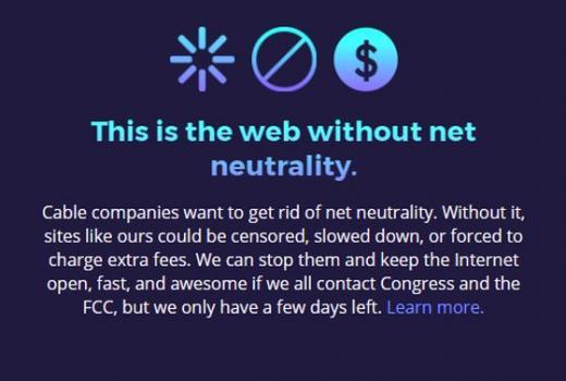 12. juli: Dan borbe za očuvanje neutralnosti interneta
