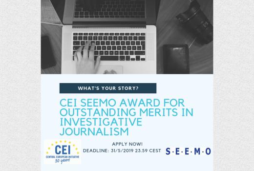 CEI SEEMO nagrada za istraživačko novinarstvo