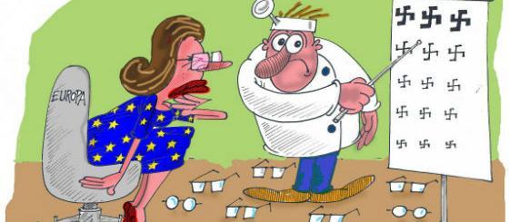 Karikatura: Vidi li Evropa dobro?