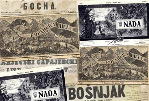 SAD u bh. štampi od (do početka Velikog rata)
