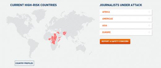 INSI: Globalni pokret za sigurnost novinara