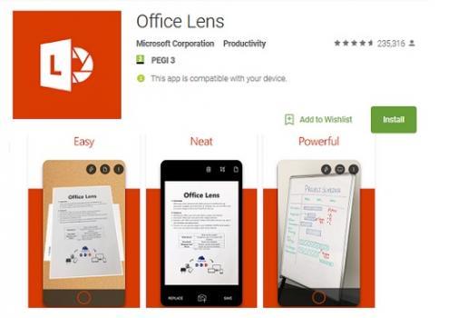 OfficeLens: Mobilna aplikacija korisna za digitaliziranje, pohranjivanje i slanje dokumenata