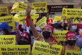IFJ: Masovno hapšenje novinara koji izvještavaju sa protesta u Mijanmaru