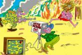 Karikatura: TV