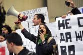 Studentska i medijska blokada u Makedoniji