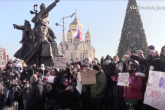 Na protestima u Rusiji zabilježena 52 slučaja hapšenja i nasilja nad novinarima