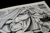Strip izložba u Srbiji: Huligani bacili suzavac i uništili radove