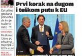 Štampa puna bh. političara i EU integracija