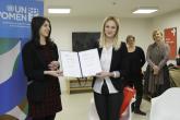 "Novinarka Mediacentra pobjednica konkursa ""Rušimo stereotipe, ostvarujemo prava"""