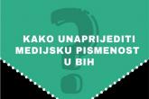 Kako unaprijediti medijsku pismenost u BiH?