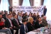 Protesti i nezadovoljstvo hrvatske medijske zajednice