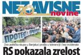Protest opozicije i kontramiting vlasti u Republici Srpskoj obilježili su maj u bh. štampi