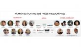 RSF: Poznati nominovani za ovogodišnju nagradu za slobodu štampe