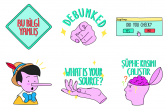 Na Instagramu, Telegramu i WhatsAppu dostupni stikeri za borbu protiv dezinformacija