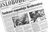 Nekoliko dana jula: medijski izvještaji o događajima u Srebrenici