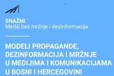Modeli propagande, dezinformacija i mržnje u medijima i komunikacijama u BiH